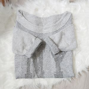 NY grey crewneck sweater